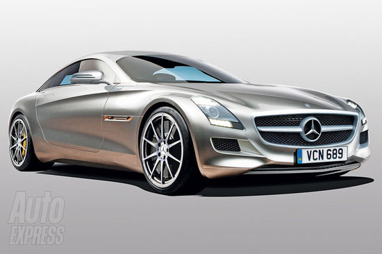 a new smaller mercedes sls planned to compete with porsche 911. Black Bedroom Furniture Sets. Home Design Ideas