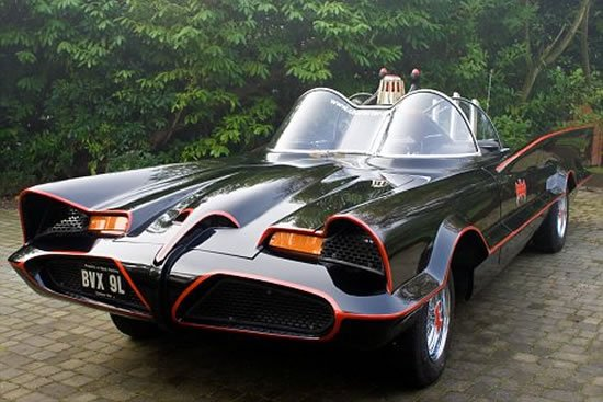Another Power Packed 1966 Batmobile Replica For A Rich