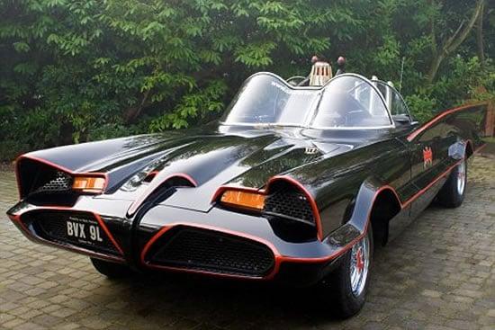 power packed  batmobile replica   rich batman fan
