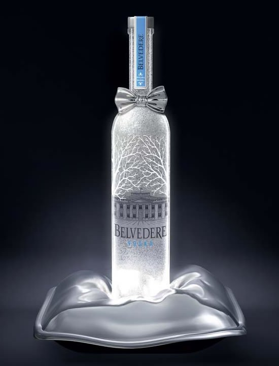 Belvedere Vodka Dresses Up With A Platinum Bowtie For