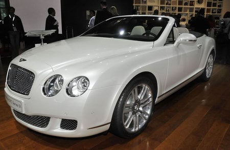 "bentley continental gtc ""series 51"" unveiled at frankfurt auto show -"