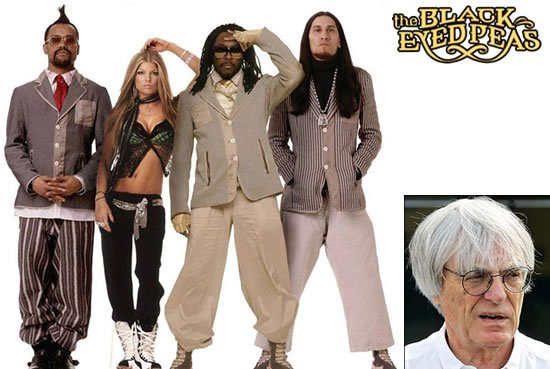Bernie-Ecclestone-hires-Black-Eyed-Peas