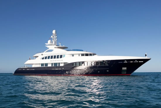 Behold the Admiral X-Force 145, an uber-luxury mega-yacht with