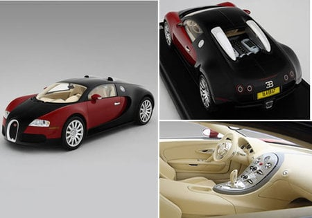 Good 1/8 Scale Bugatti Veyron 16.4 Model Car Will Please High End Collectors