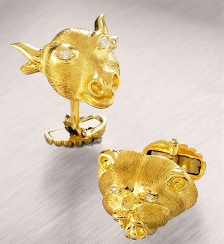 Bull_and_Bear_Cufflinks