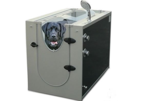 Canine-Shower-Stall