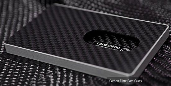 Cardissimo carbon fibre business cards and cases make a statement ...