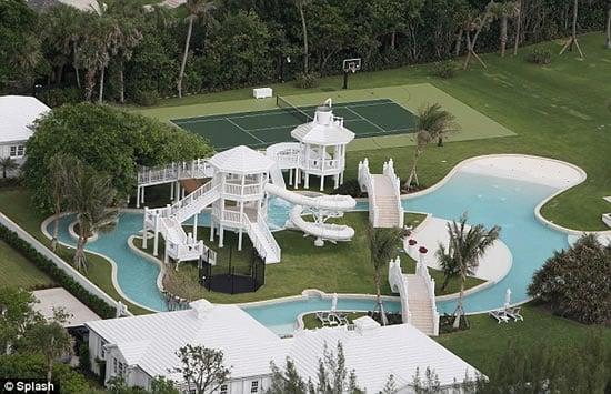 Celine Dion S 20 Million Home Features A Water Park Luxurylaunches