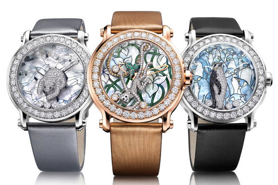 Chopard celebrates 150th anniversary with exquisite animal for Chopard animal world jewelry collection