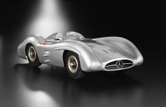 Mercedes W196 R Streamliner Race Car Model Is A Collector