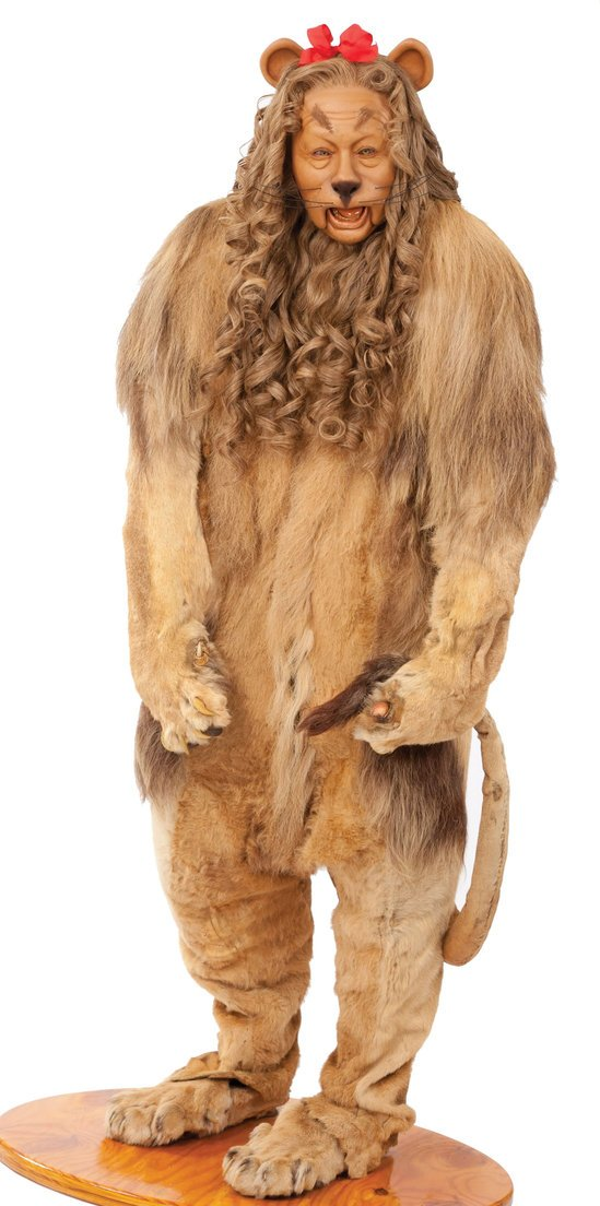 Used Luxury Cars >> Cowardly Lion Costume from The Wizard of Oz is up for auction
