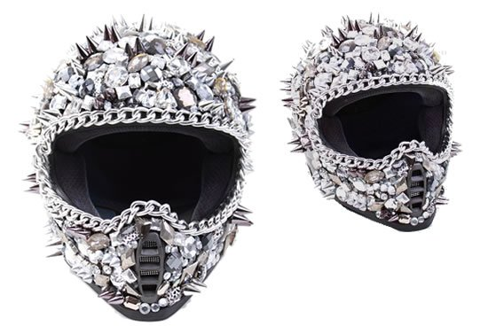 Crystal-studded-spiked-helmet-1