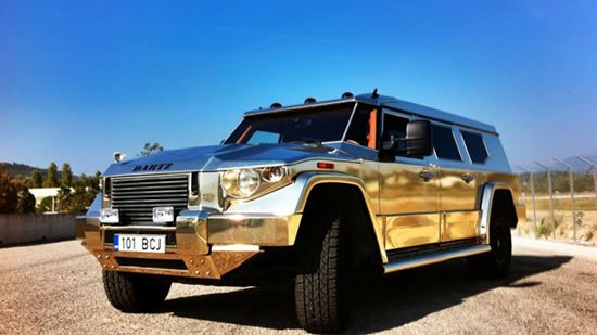 Dartz's Gold Aladeen Edition Prombron is up for $750,000