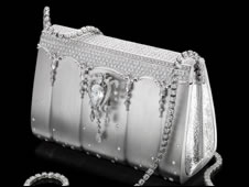Diamond-handbag