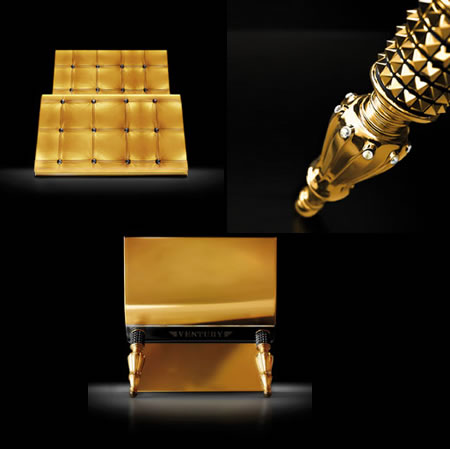 Divine Collection Millesime 2010 U2013 Luxury Furniture With 24ct Gold And  Crystals