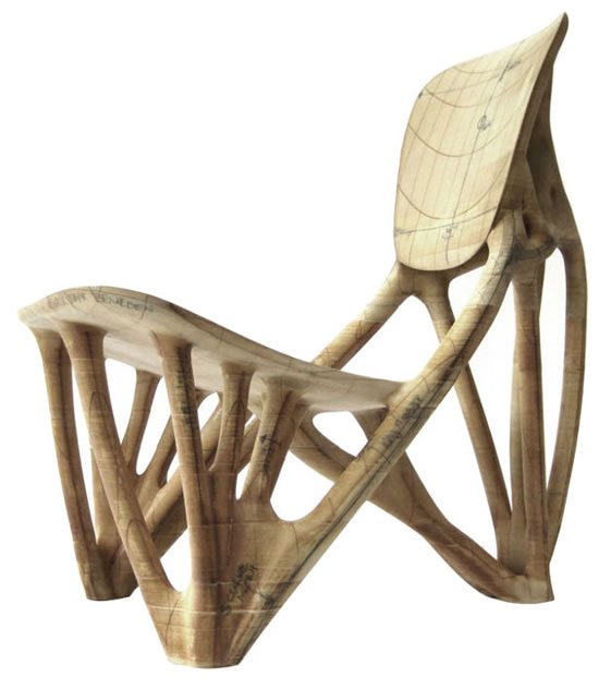 Exceptionnel Droog Bone Chair Prototype Edition Is A Boney Form Of Furniture Piece