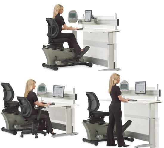 Charmant If You Enjoy Exercising While On The Job Without Breaking A Sweat, Then The  New Elliptical Machine Office Desk Is What You Need. This Is A Height  Adjustable ...