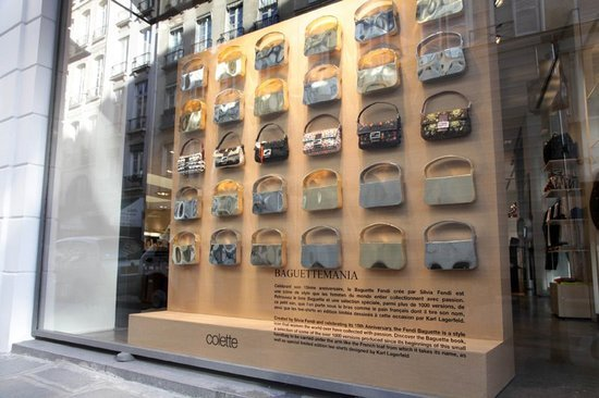 Most Expensive Cars >> Fendi Baguette's 15th anniversary is marked with a Pop Up store at Colette Paris