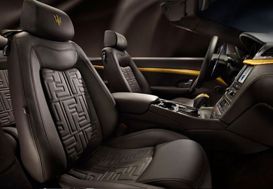 a look inside the maserati fendi grancabrio