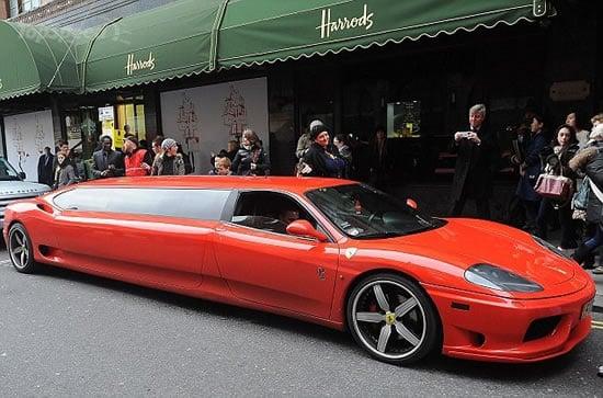 Ferrari 360 Modena Is The World S Fastest Limousine