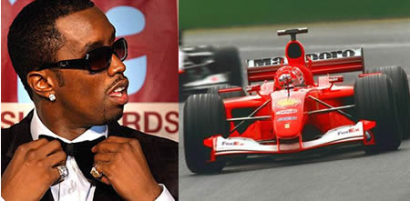 Sean Diddy Combs Super Cars Collection  AutosportsArt