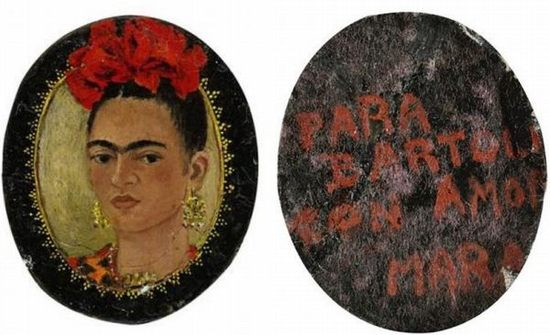Frida-Kahlo-Miniature-Self-Portrait-Could-Fetch-1.2-Million-thumb-550x335