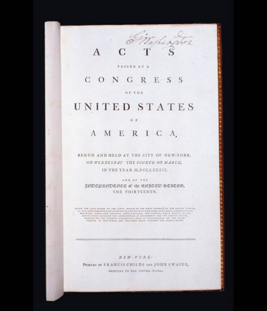 George_Washington_personal_copy_of_the_Acts_of_Congress