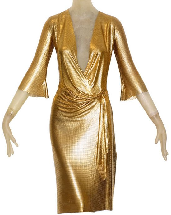 Gold-Draped-Metal-Mesh-Dress-1