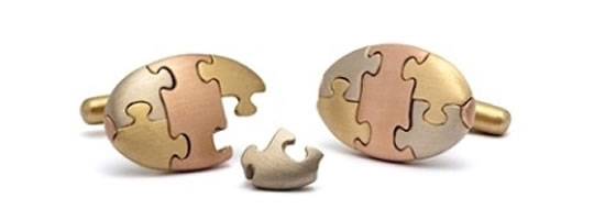 Gold-Jigsaw-Puzzle-Cufflinks-1