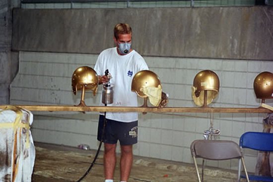 Gold-Notre-Dame-Football-Helmets-2