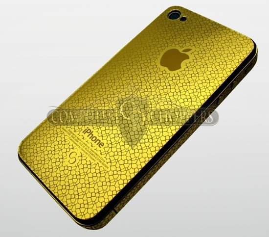 24 Carat Gold Iphone 4 Models With Customized Graphics
