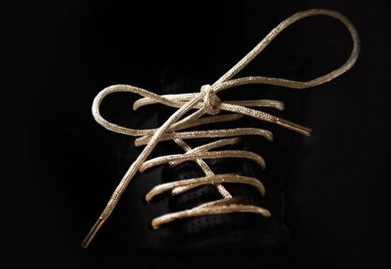 69829c838a0c0 The world's most expensive shoe lace is made of gold and costs $19,000 -