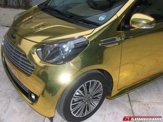 Golden-Aston-Martin-Cygnet-city-car-4-thumb-550x412