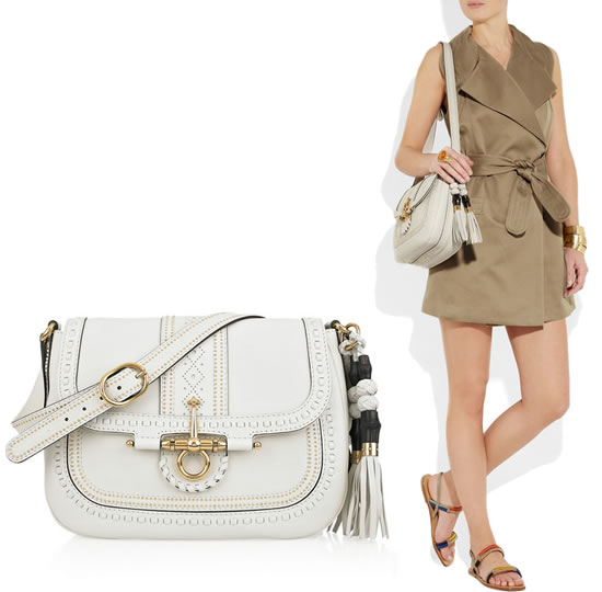 d0af0b862b6 LL Arm Candy Pick  Gucci Interlocking Polished Leather Shoulder Bag -