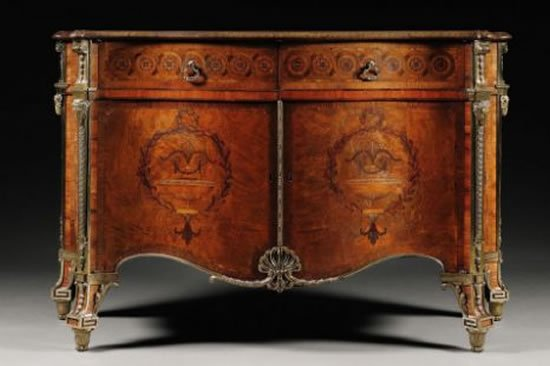 Harrington commode becomes the most expensive piece of for World s most expensive furniture