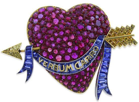 Heart-Brooch