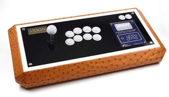 Hoon and Neo Legend leather joystick adds a dash of luxury