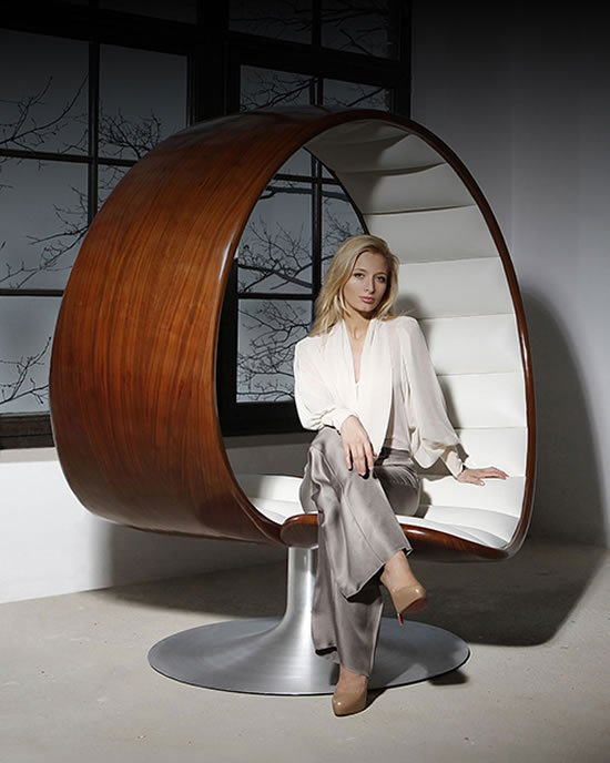 Astonishing Gabriella Asztalos Hug Chair Is Designed For Two People To Interior Design Ideas Lukepblogthenellocom