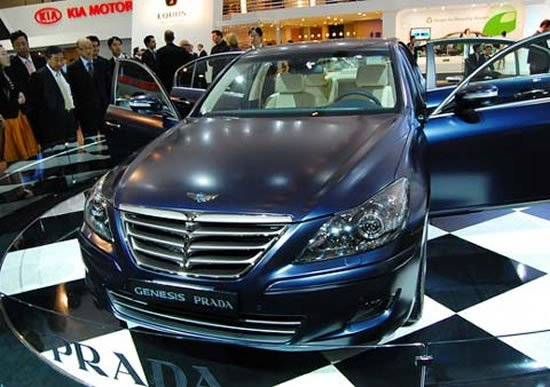 Hyundai Genesis Gets A Prada Make Over