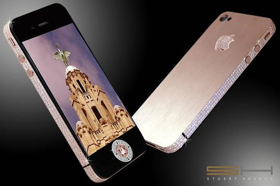 plus range diamond rose rockstar iphone gold contentbox straight