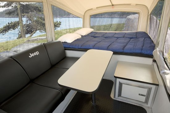 Mini Cars For Sale >> Camp in style in the off-road camping trailers by Jeep and ...