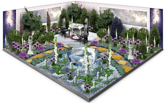 Jewel-filled-Chelsea-Flower-Show-garden