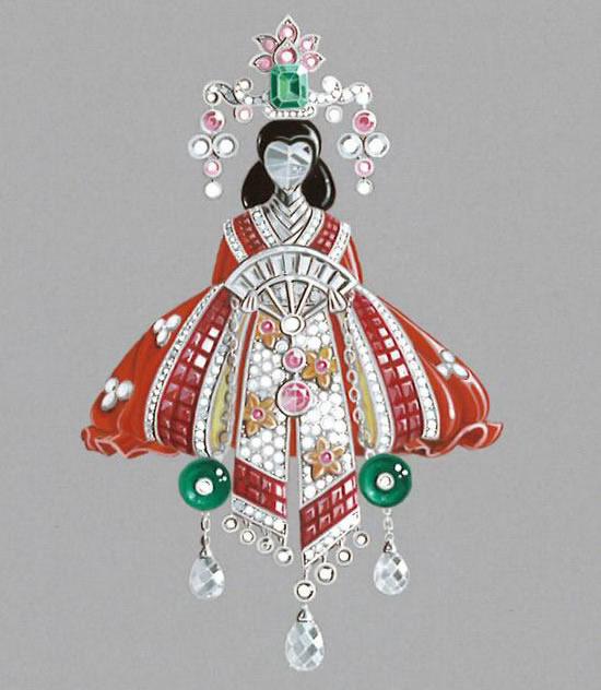 Van Cleef Arpels unveil Palais de la Chance Jewelry Collection