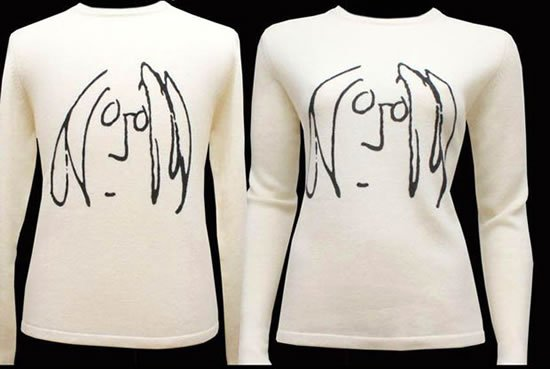 John-Lennon-Works-on-Cashmere-Sweaters-1