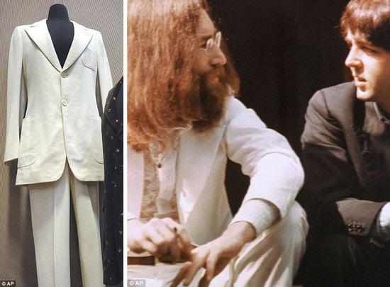 John Lennon S Iconic White Suit Auctioned Luxurylaunches