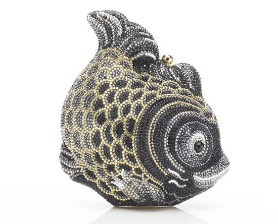 Judith Leiber Golden Koi fish minaudière