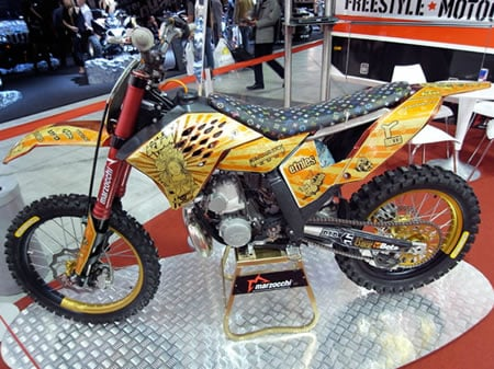 Ktm 250 Bike Gets A Touch Of Luxury With Louis Vuitton Seat