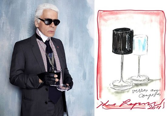 Karl Lagerfeld Designs Crystal Collection For Orrefors
