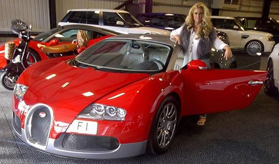 Katie-Price-with-red-Veyron