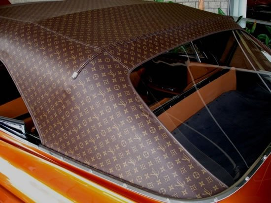Louis Vuitton Themed Cadillac Looks Like A Huge Vintage